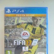 Videojuegos y Consolas PS4: FIFA 17. PS4. CON MANUAL DE INSTRUCCIONES. EDICIÓN DELUXE.. Lote 235676540