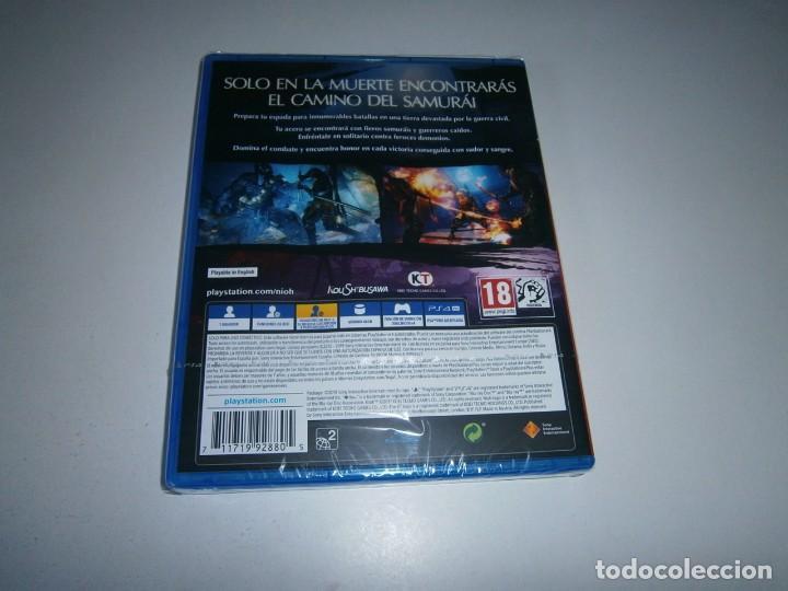 Videojuegos y Consolas PS4: NIOH PLAYSTATION 4 PAL ESPAÑA NUEVO PRECINTADO - Foto 2 - 235924890