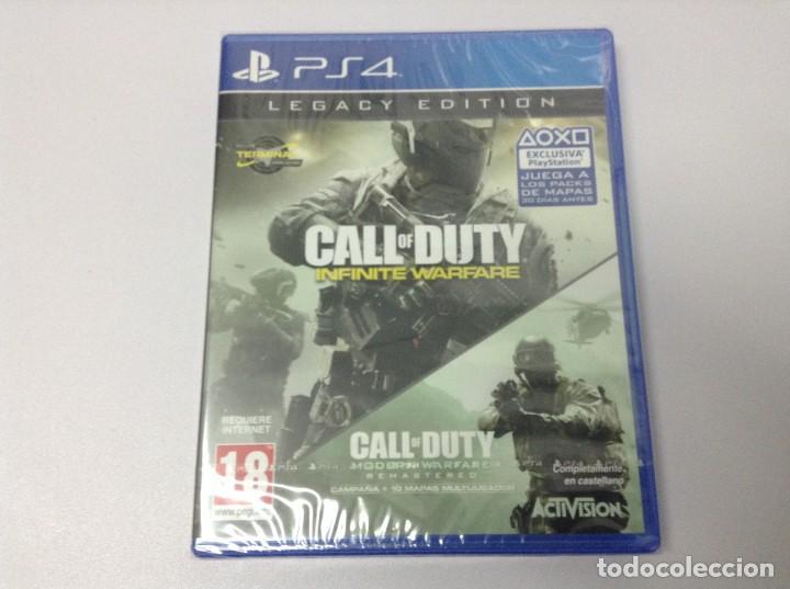 CALL OF DUTY INFINITE WARFARE LEGACY EDITION (Juguetes - Videojuegos y Consolas - Sony - PS4)