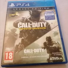Videojuegos y Consolas PS4: CALL-OF-DUTY-INFINITE-WARFARE-LEGACY-EDITION-PAL-ESPANA- MANUAL INSTRUCCIONES.. Lote 236276190
