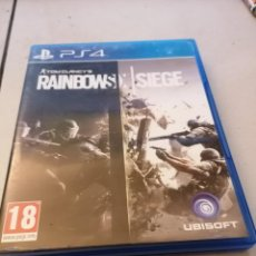Videojuegos y Consolas PS4: PS4 TOM CLANCY'S RAINBOW SIX SIEGE MANUAL INSTRUCCIONES. PERFECTO ESTADO. Lote 236276315