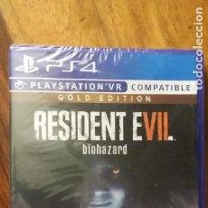 Videojuegos y Consolas PS4: RESIDENT EVIL BIOHAZARD PS4 GOLD EDITION, PRECINTADO. Lote 236433405