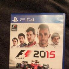 Videojuegos y Consolas PS4: FÓRMULA 1 F1 2015 PLAY 4. Lote 236811920