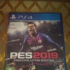 Videojuegos y Consolas PS4: JUEGO DE LA PS4 PLAY STATION 4 PES2019 PES 2019 *. Lote 236906970