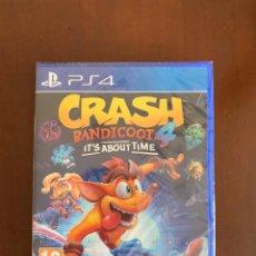 Videojuegos y Consolas PS4: PS4 CRASH BANDICOOT 4: IT'S ABOUT TIME. NUEVO. Lote 237738015