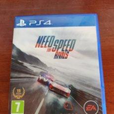 Videojuegos y Consolas PS4: JUEGO PS4 NEED FOR SPEED RIVALS COMO NUEVO. Lote 239603785