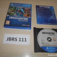 Jeux Vidéo et Consoles: PS4 - UNCHARTED THE NATHAN DRAKE COLLECTION , PAL ESPAÑOL , COMPLETO. Lote 240012010