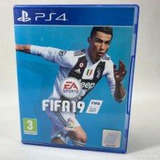 Jeux Vidéo et Consoles: VIDEOJUEGO PLAY STATION 4 - PS4 - FIFA 19 + CAJA. Lote 240708495