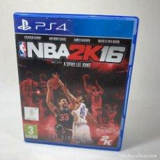 Jeux Vidéo et Consoles: VIDEOJUEGO PLAY STATION 4 - PS4 - NBA 2K16 + CAJA. Lote 240708985