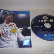 Videojuegos y Consolas PS4: PS4 FIFA 18 SONY PLAYSTATION 4. Lote 241110355