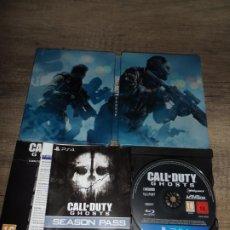 Videojuegos y Consolas PS4: PS4 CALL OF DUTY GHOST STEELBOOK PAL ESP COMPLETO. Lote 287965943