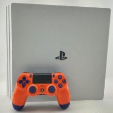 Jeux Vidéo et Consoles: CONSOLA PLAYSTATION 4 PRO 1TB 4K PS4 BLANCA + MANDO SONY V2 + CABLES DE SEGUNDA MANO. Lote 241877145