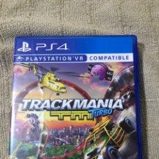 Videojuegos y Consolas PS4: JUEGO PLAY STATION 4 VR COMPATIBLE /// TRACKMANIA TURBO////. Lote 243474405