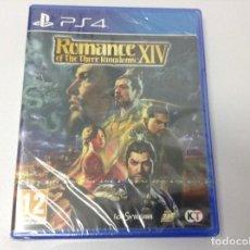 Videojuegos y Consolas PS4: ROMANCE OF THE THREE KINGDOMS XIV. Lote 243578040