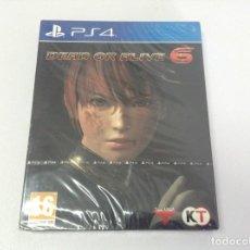 Videojuegos y Consolas PS4: DEAD OR ALIVE 6 . CAJA METALICA. Lote 243830285