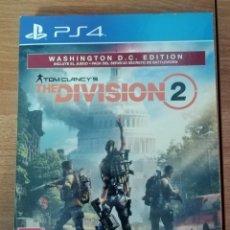 Videojuegos y Consolas PS4: THE DIVISION 2. PS4. INCLUYE GALERÍA DE ARTE Y MAPA. Lote 244514465