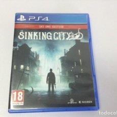 Videojuegos y Consolas PS4: THE SINKING CITY. Lote 244730345