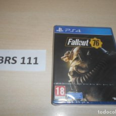 Videojuegos y Consolas PS4: PS4 - FALLOUT 76 , PAL ESPAÑOL , PRECINTADO. Lote 244735375