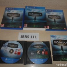 Videojuegos y Consolas PS4: PS4 - BIOSHOCK - THE COLLECTION , PAL ESPAÑOL , COMPLETO. Lote 244736075