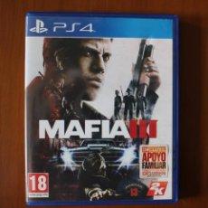 Videojuegos y Consolas PS4: MAFIA 3 - PLAYSTATION 4. Lote 244931350