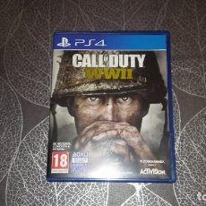 Videojuegos y Consolas PS4: CALL OF DUTY (COD) WORLD OF WAR II (WW2). ACTIVISION. Lote 245269360