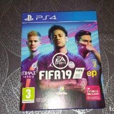Videojuegos y Consolas PS4: FIFA 19. EA SPORTS. COMO NUEVO, CON LA CAJA ORIGINAL. Lote 245269920