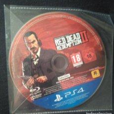 Videojuegos y Consolas PS4: RED DEAD REDEMPTION II 2 (SOLO DISCO DATOS). PS4.. Lote 245444085