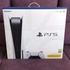 Videojuegos y Consolas PS4: CAJA E INSTRUCCIONES CONSOLA SONY PLAYSTATION 5 PS5 DISCO 825 GB. Lote 270585788
