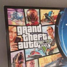 Videojuegos y Consolas PS4: CAJA E INSTRUCCIONES CONSOLA SONY PLAYSTATION 4 PS4 GRAND THEFT AUTO FIVE GTA5. Lote 245612200