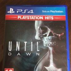 Videojuegos y Consolas PS4: PS4 UNTIL DAWN ESTADO PERFECTO. Lote 245950670