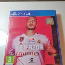 Videojuegos y Consolas PS4: JUEGO PLAYSTATION FIFA 20. Lote 246087765
