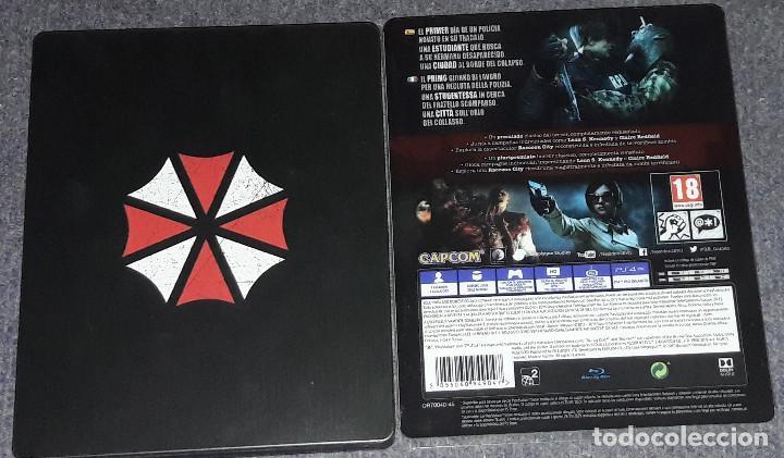 Videojuegos y Consolas PS4: RESIDENT EVIL 2 STEELBOOK PLAYSTATION 4 CONSOLAS CAPCOM - Foto 2 - 246163395