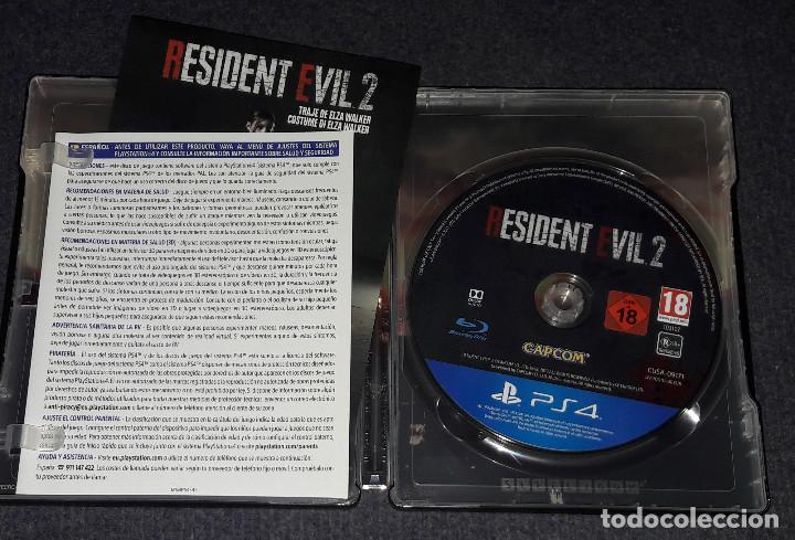 Videojuegos y Consolas PS4: RESIDENT EVIL 2 STEELBOOK PLAYSTATION 4 CONSOLAS CAPCOM - Foto 3 - 246163395