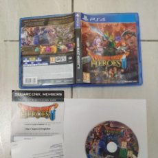 Videojuegos y Consolas PS4: DRAGON QUEST HEROES II 2 PS4 PLAYSTATION 4 COMPLETO PAL-ESPAÑA. Lote 246225620