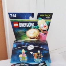Videojuegos y Consolas PS4: LEGO DIMENSIONS 71227 FUN PACK KRUSTY. Lote 246598030