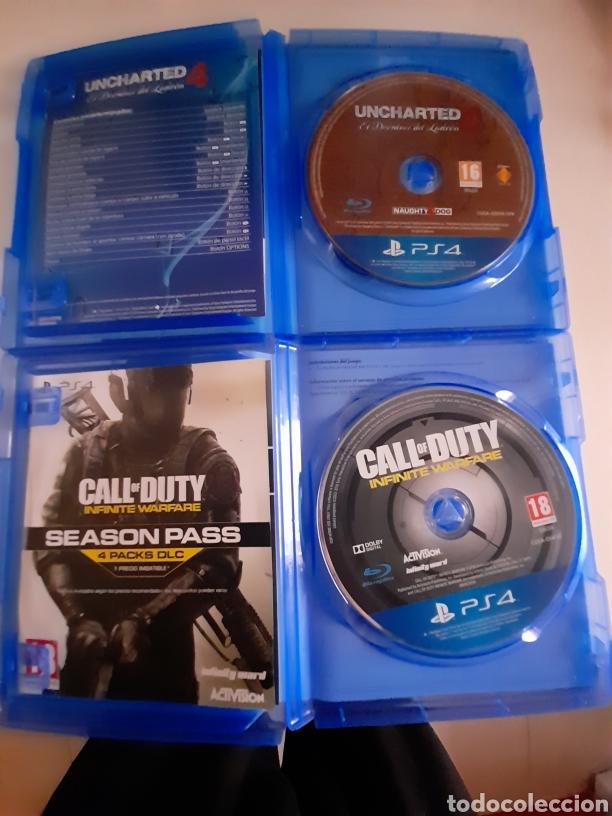 Videojuegos y Consolas PS4: PS4 VIDEOJUEGOS UNCHARTED 4 Y CALL OF DUTY INFINITE WARFARE - Foto 2 - 247522545