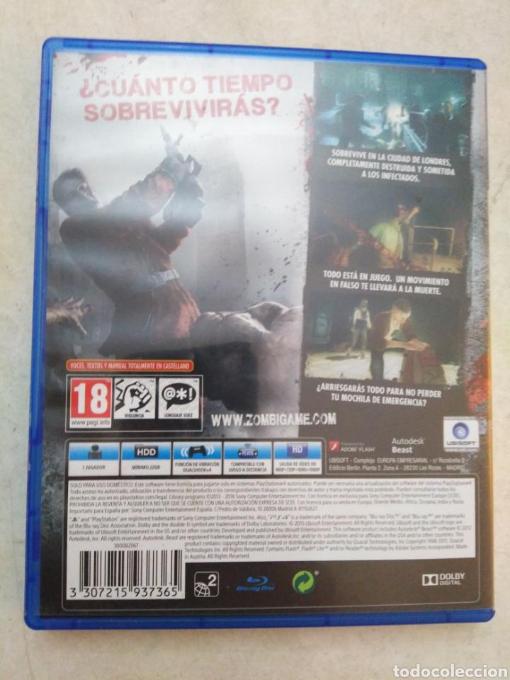 Videojuegos y Consolas PS4: Zombi juego ps4 - Foto 2 - 252077015