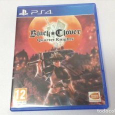 Videojuegos y Consolas PS4: BLACK CLOVER QUARTET KNIGHTS. Lote 253536085