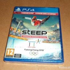 Videojuegos y Consolas PS4: STEEP: JUEGOS DE INVIERNO EDITION PARA SONY PLAYSTATION 4 / PS4 ,A ESTRENAR, PAL. Lote 253671925