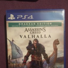 Videojuegos y Consolas PS4: PS4 ASSASSIN'S CREED VALHALLA. COMO NUEVO!. Lote 253755745