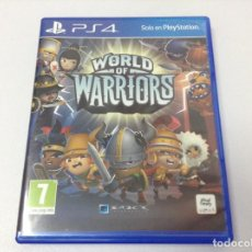 Videojuegos y Consolas PS4: WORLD OF WARRIORS. Lote 253909305