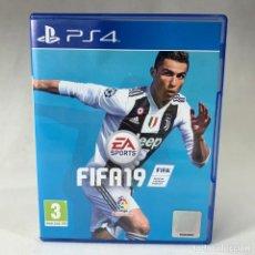 Videojuegos y Consolas PS4: VIDEOJUEGO - PLAYSTATION 4 - PS4 - FIFA 19 + CAJA. Lote 254229520