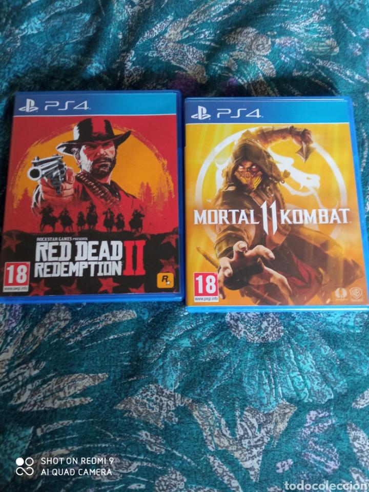 RED DEAD REDEMPTION Y MORTAL KOMBAT 11 PS4 (Juguetes - Videojuegos y Consolas - Sony - PS4)