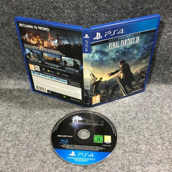 Videojuegos y Consolas PS4: FINAL FANTASY XV SONY PLAYSTATION 4 PS4 - Foto 1 - 254640025