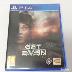 Videojuegos y Consolas PS4: GET EVEN. Lote 254789755