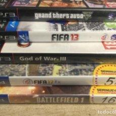 Videojuegos y Consolas PS4: LOTE DE 5 JUEGOS DE PS3 ( 3 JUEGOS ) Y PS4 ( 2 JUEGOS ). Lote 256081245