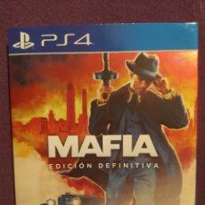 Videojuegos y Consolas PS4: PS4 MAFIA EDICIÓN DEFINITIVA. Lote 257553900
