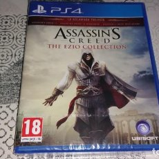 Videojuegos y Consolas PS4: ASSASSINS CREED EZIO COLLECTION II HERMANDAD REVELATIONS PS4 PAL ESPAÑA PRECINTADO. Lote 260873180