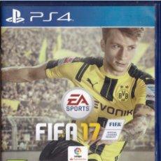 Videojuegos y Consolas PS4: JUEGO PARA PS4: FIFA 17 (LEER DESCRIPCION) - OFERTAS DOCABO. Lote 261274285