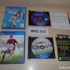 Videojuegos y Consolas PS4: PS4 - FIFA 15 + FIFA 19 , PAL ESPAÑOLES. Lote 261833115